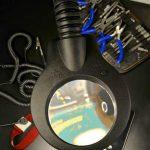 Lupa de mesa industrial LED multifunción KFM Led Muestra