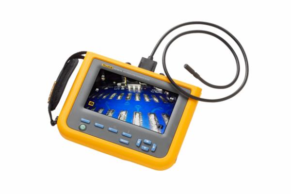 Videoscopio de inspección de alta resolución Fluke DS703 FC con Fluke Connect™